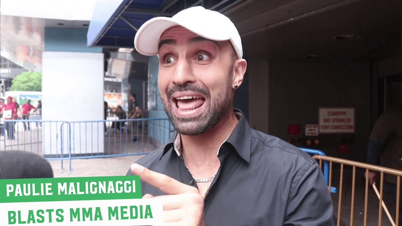 Video: FYI, Paulie Malignaggi says he would spit on Artem's mom's face
