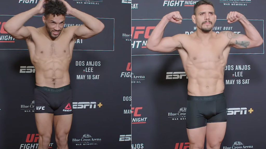 Video: UFC Rochester 'Dos Anjos vs. Lee' Weigh-in Results: Main Headliner Bout Set