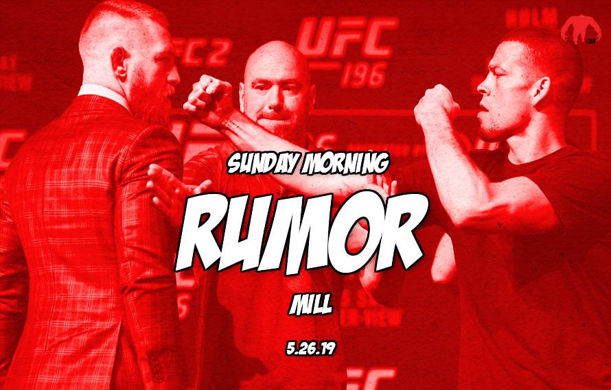 McGregor-UFC negotiations, Rizin-Bellator fights, & more in the Sunday Morning Rumor Mill
