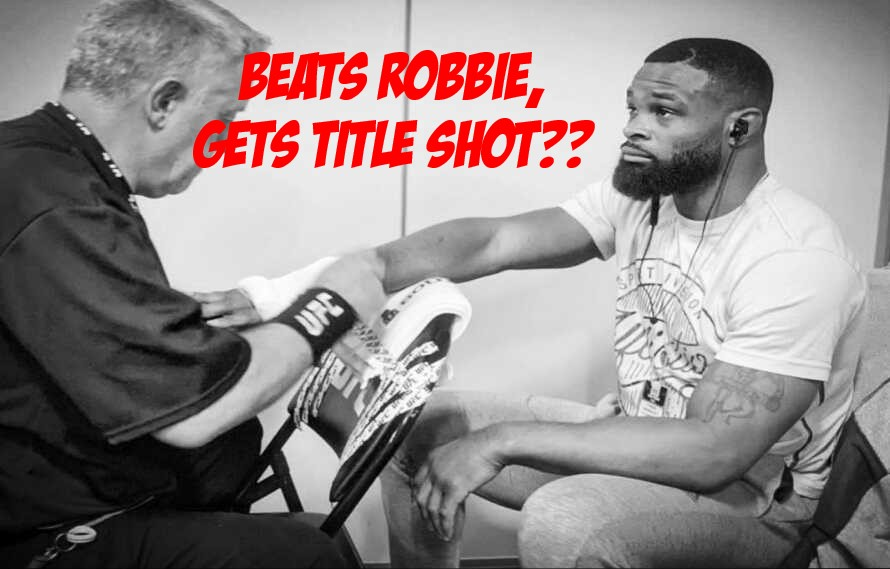 Tyron Woodley: Beats Robbie Lawler, 'Fighting For Title'