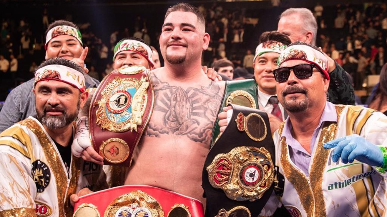 Andy Ruiz Jr. Reacts To His Huge Win Over Anthony Joshua