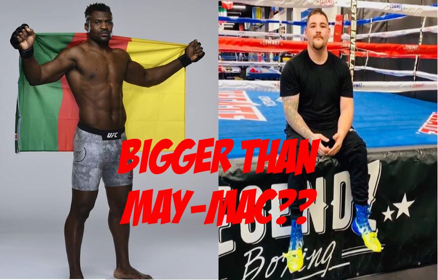 Joe Rogan Thinks Everybody Wants To See Francis Ngannou Box Andy Ruiz Jr