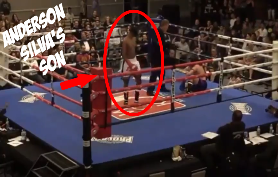 WATCH: Anderson Silva's Son Gets TKO Win In Muay Thai Debut
