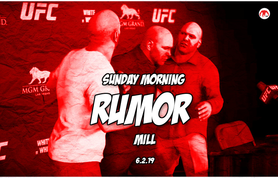 Decreased UFC fighter pay, Cormier update, & more in the Sunday Morning Rumor Mill