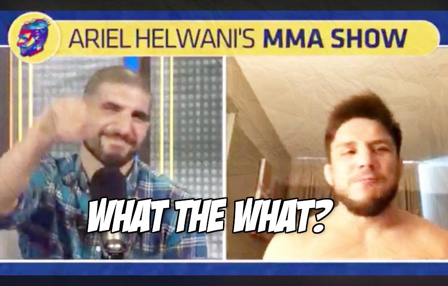 Watch: Henry Cejudo is still talking about Nikki Bella, still awkward as hell about it