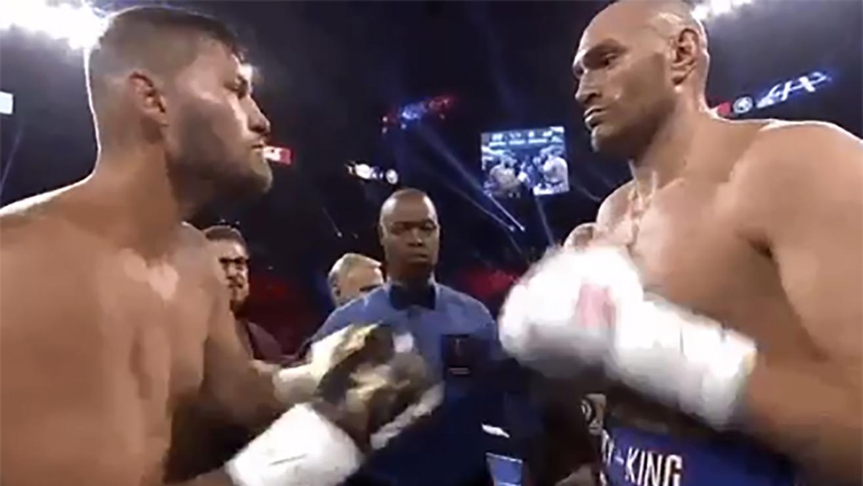 Tyson Fury Blows Out Tom Schwarz Via Second Round Tko