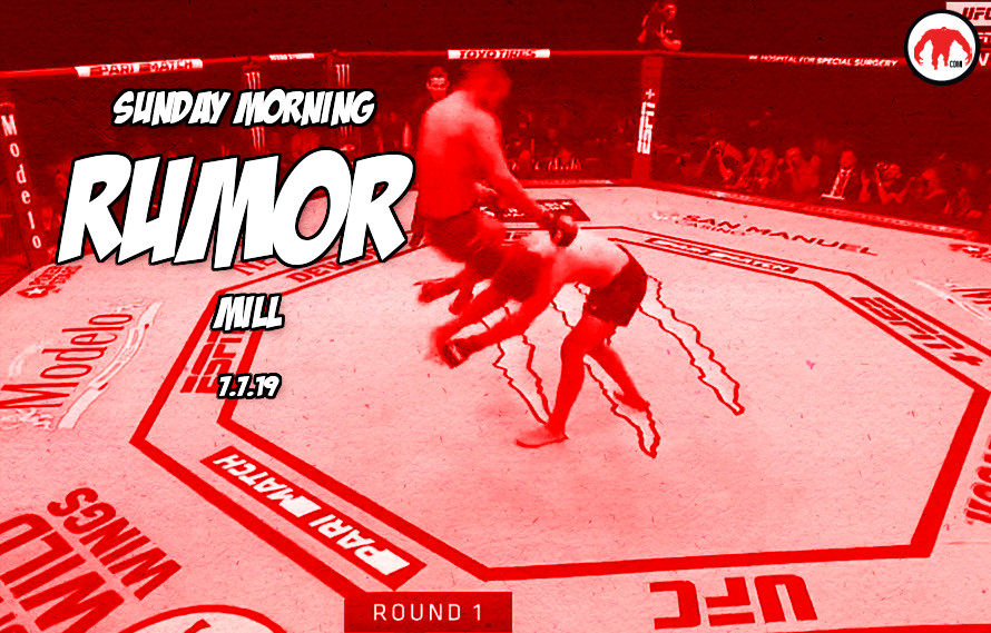 Jones at heavyweight, Rousey return, & more in the Sunday Morning Rumor Mill