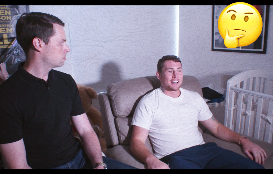 Video: Darren Till does a bizarre interview next to a baby crib about being arrested, being KO'd by Masvidal