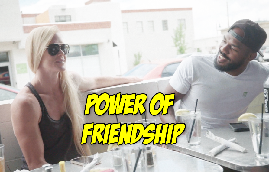Watch: Holly Holm & Jon Jones continue to have one of the best friendships in MMA