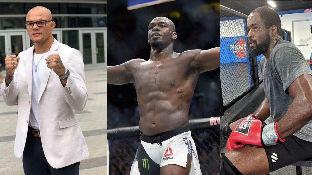 Jon Jones Fires Twitter Shots At Anthony Smith And Corey Anderson