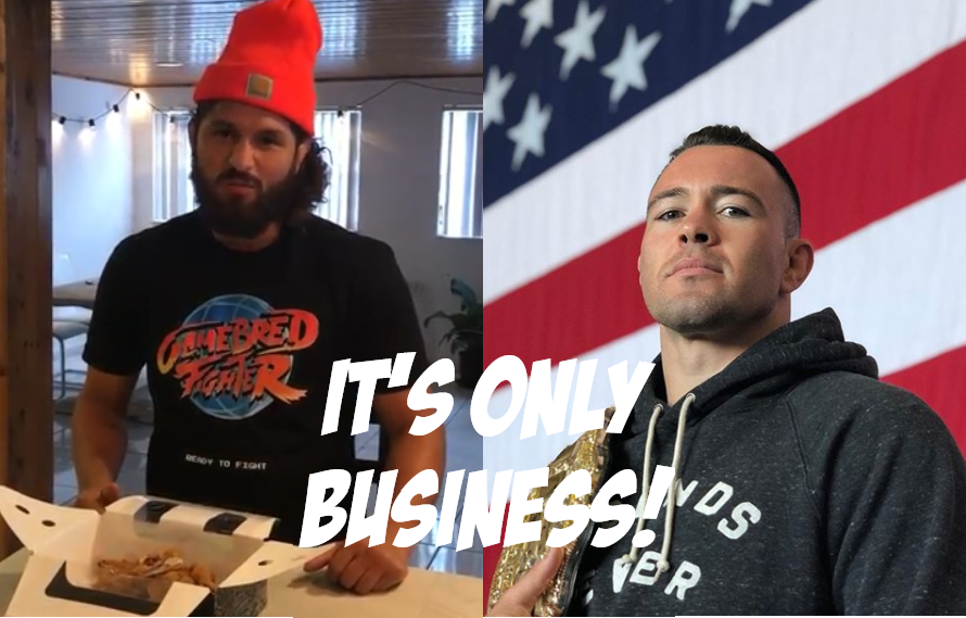 Jorge Masvidal Down To Fight Colby Covington: 'I Didn't Get Into This Business To High Five With No Man'