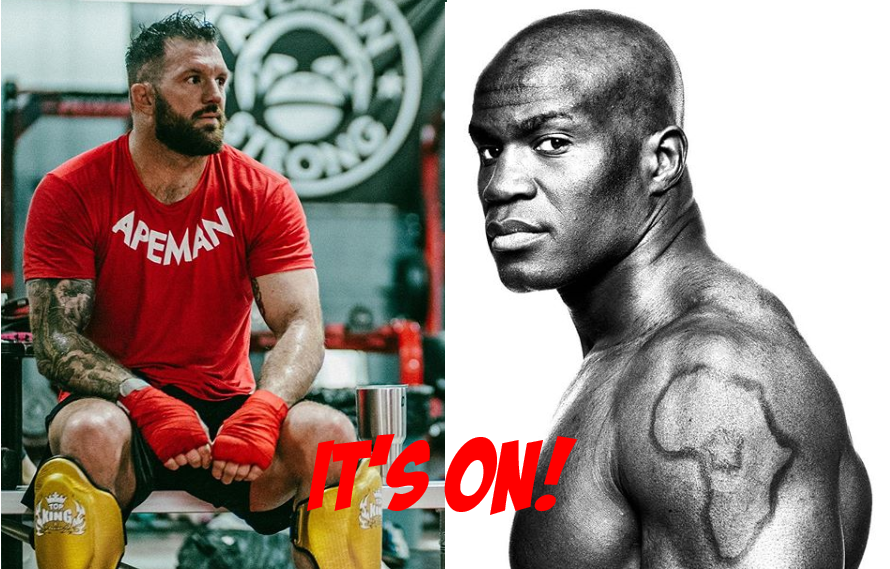 IT'S ON! Ryan Bader Slated To Defend Heavyweight Title Against Chieck Kongo