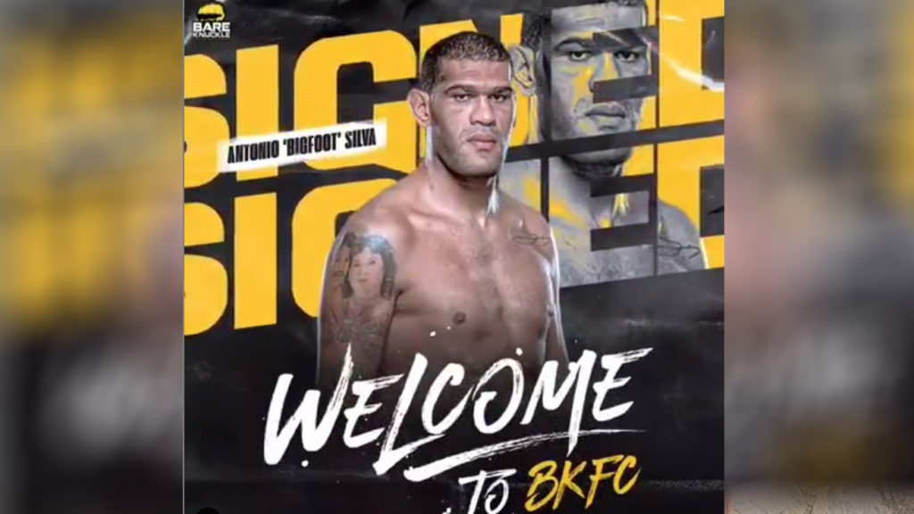 "Antonio ""Bigfoot"" Silva Signs With Bare-knuckle FC Which Could Be Disastrous"