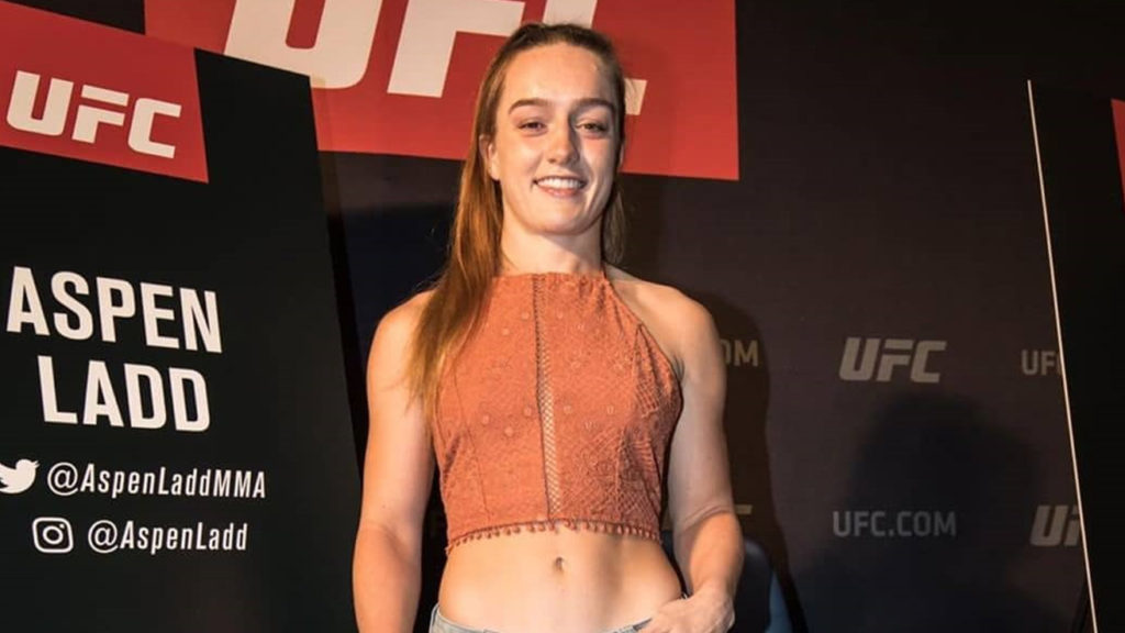 California State Athletic Commission Suspends Aspen Ladd at Bantamweight.