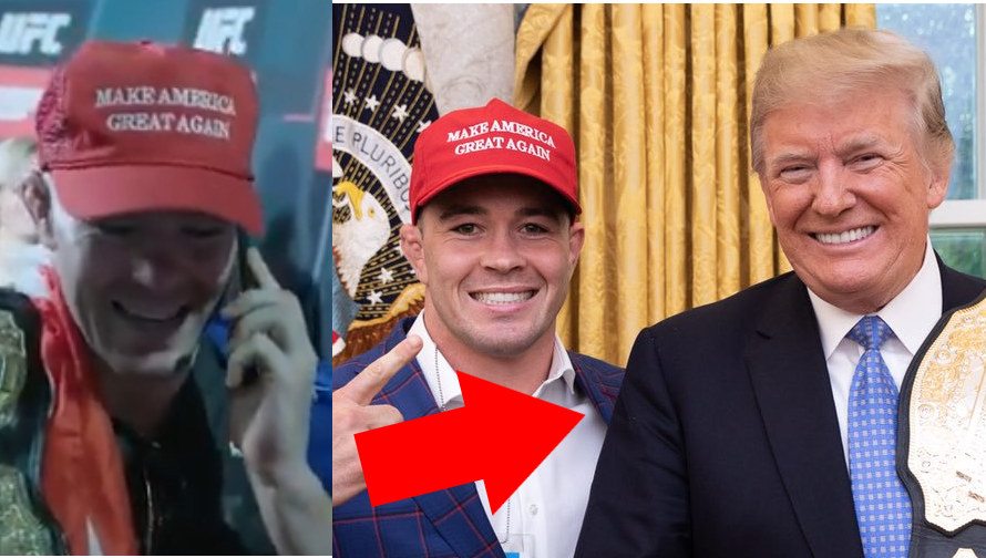 WATCH: Donald Trump Calls Colby Covington Following Lawler Win