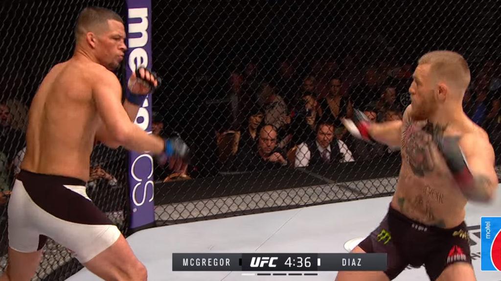 UFC 241 Free Fight: McGregor vs Diaz 1