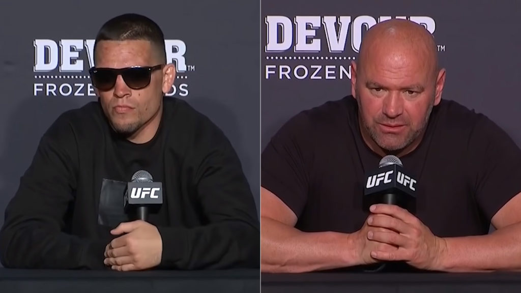 Dana White FINALLY Accepts Nate Diaz's Superstardom