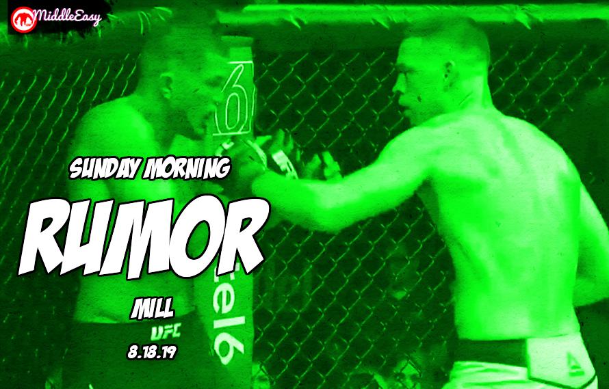 Diaz vs. McGregor 3, DC retirement, & more in the Sunday Morning Rumor Mill