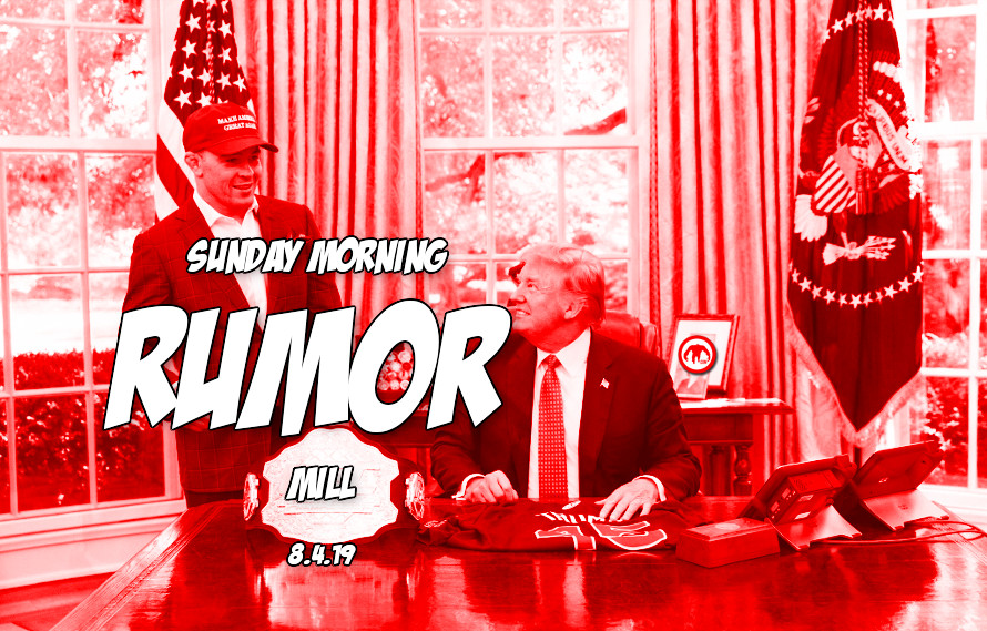Covington vs. Usman date, Fight Pass relaunch, & more in the Sunday Morning Rumor Mill