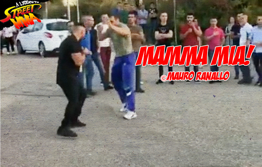 A Lesson in Street MMA: Meanwhile in Italy, bouncers are getting put to sleep in the wee hours of the morning