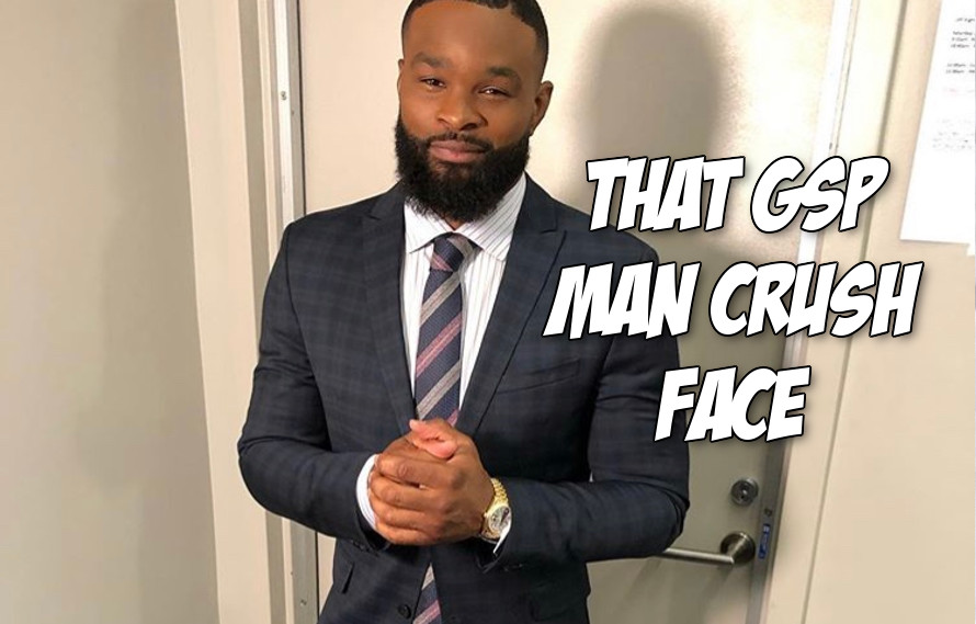 Tyron Woodley gives up trying to get a fight with Georges St-Pierre, starts training with GSP at Tristar