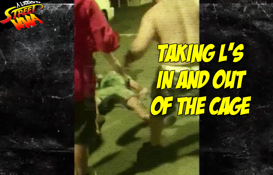 New Video: BJ Penn eats a combo & gets knocked out in a Street Fight