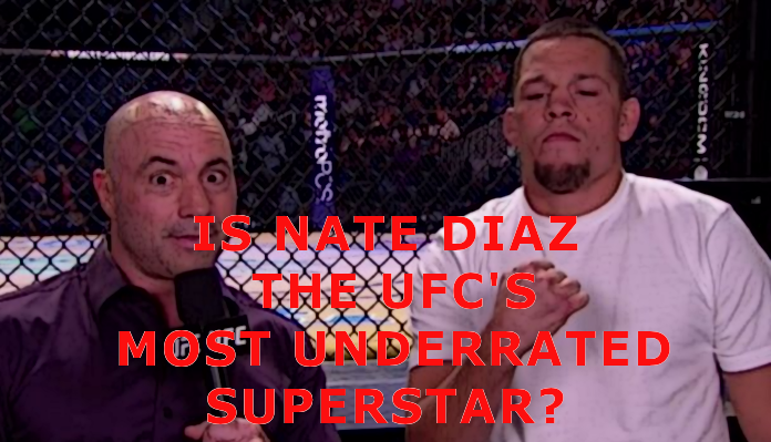 Joe Rogan Says Nate Diaz Is A Superstar & The Most Underrated One On UFC Roster