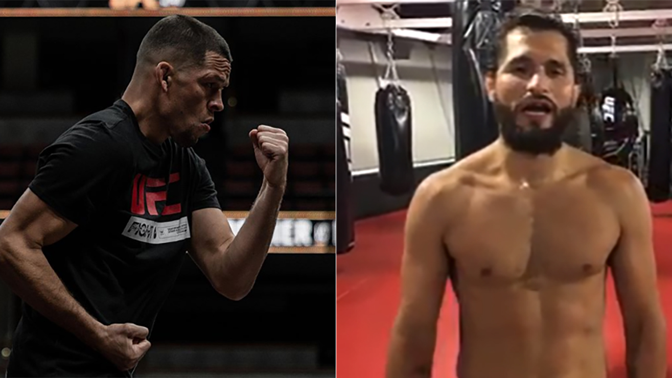 Nate Diaz Challenged Jorge Masvidal After UFC 241 Win!
