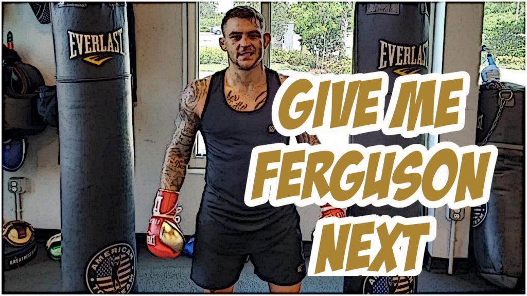 """Dana White Says Tony Ferguson vs Dustin Poirier""""Probably"""" Will Co-Main Event UFC 254"""