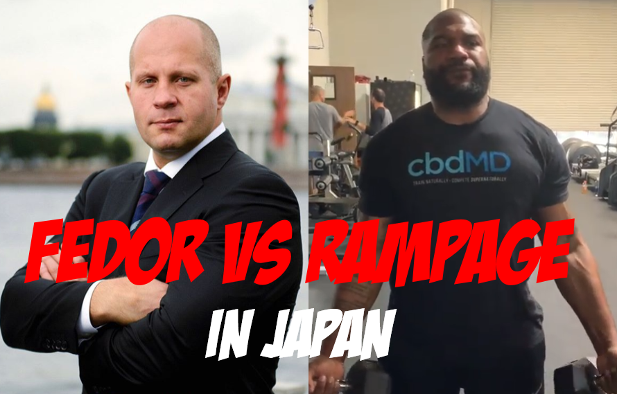 Report: Fedor Emelianenko vs Rampage Jackson Targeted For Bellator New Year's Show In Japan!