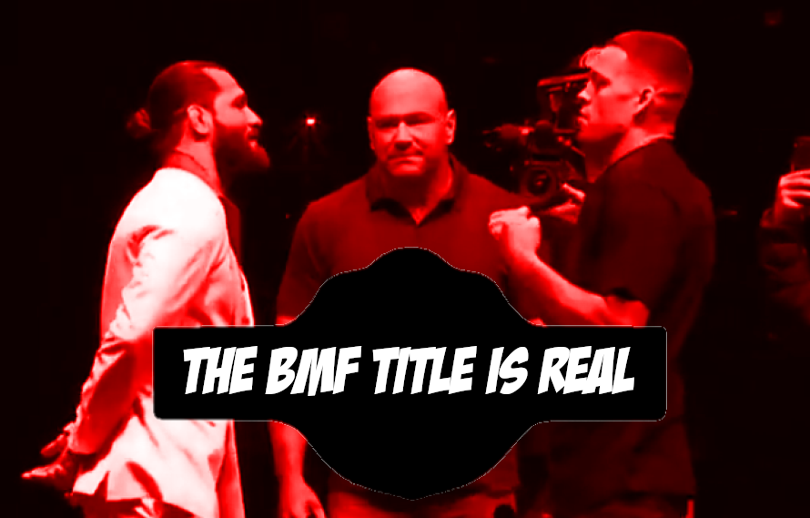 Dana White Confirms Creation Of 'BMF' Belt: 'We Started Designing It'