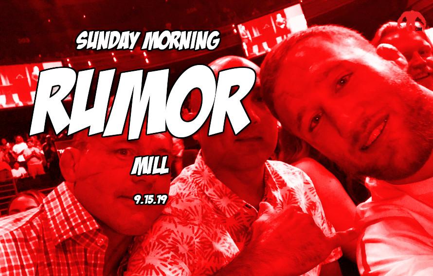McGregor vs. Gaethje, Bellator vs. Rizin & the Sunday Morning Rumor Mill