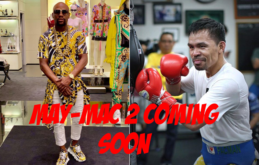 Floyd Mayweather Announces Pacquiao Rematch For Exhibition Match In Japan