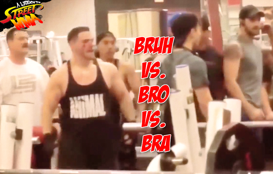 Street MMA: Spitting on people at the gym gets you knocked out