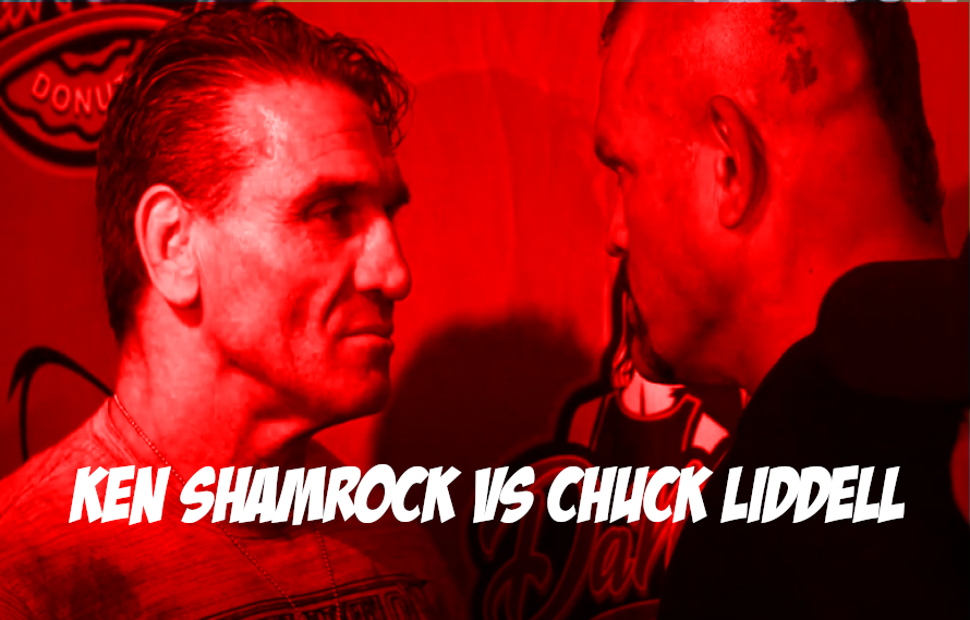 Ken Shamrock and Chuck Liddell Face Off At Olympia – MiddleEasy.com