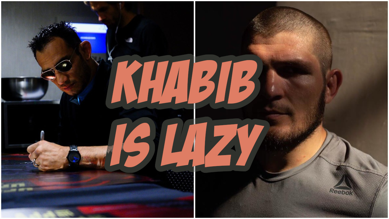 "Tony Ferguson Unimpressed By Khabib's UFC 242 Performance, Calls Him A ""Wet Blanket"""