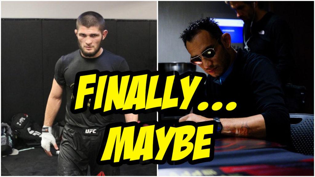 Dana White Says Tony Ferguson Gets The Next Shot Against Khabib Nurmagomedov
