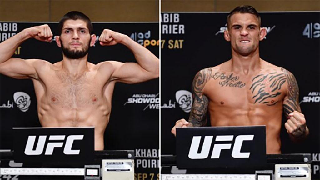 UFC 242 Weigh-In Results, Main Headliner Is Set!