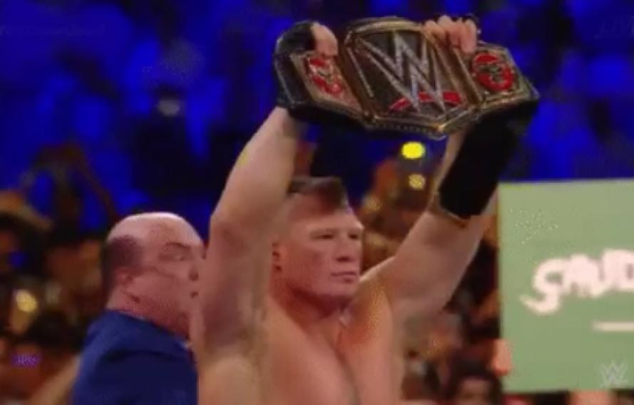 RESULTS: Brock Lesnar Gets Battered, Taps Cain Velasquez