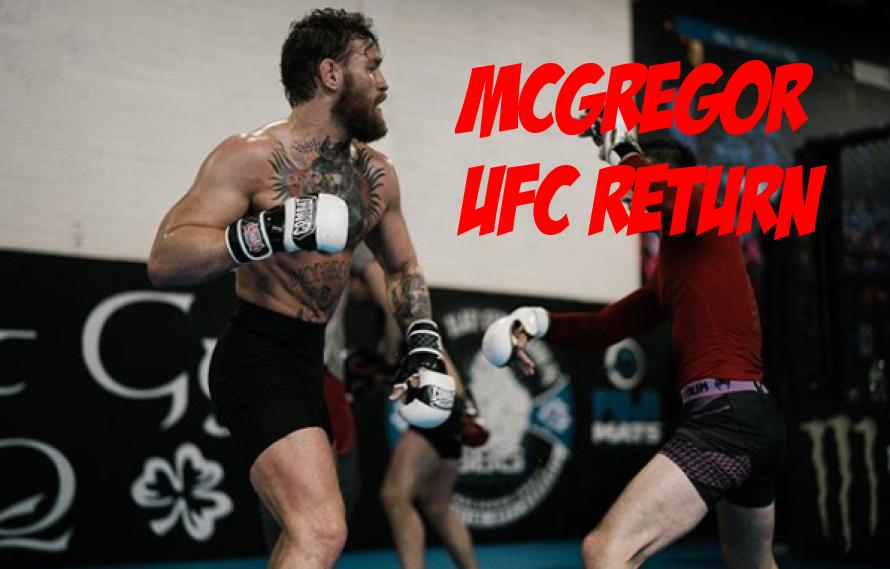 Conor McGregor To Make UFC Return January 18th!