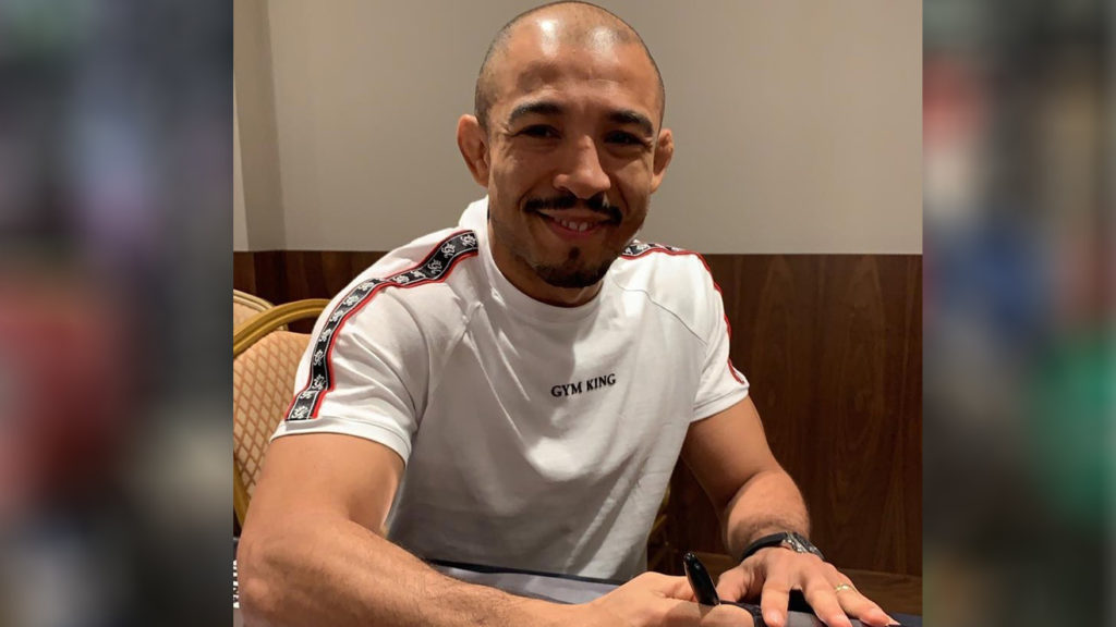 Jose Aldo Dresses Like Skeletor Amongst UFC 245 Weight-Cut