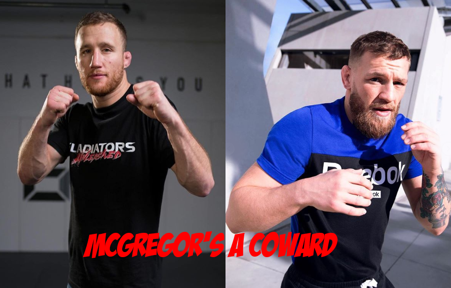 Justin Gaethje Not Looking To Fight 'Coward' McGregor – MiddleEasy.com