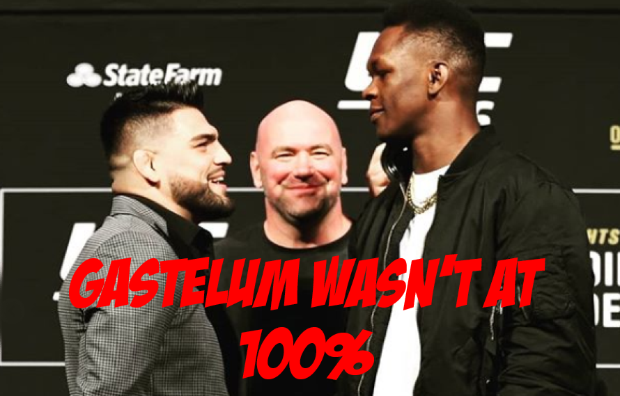 Kelvin Gastelum: 'I Was Sick For About Two Weeks' Before Adesanya Bout – MiddleEasy.com