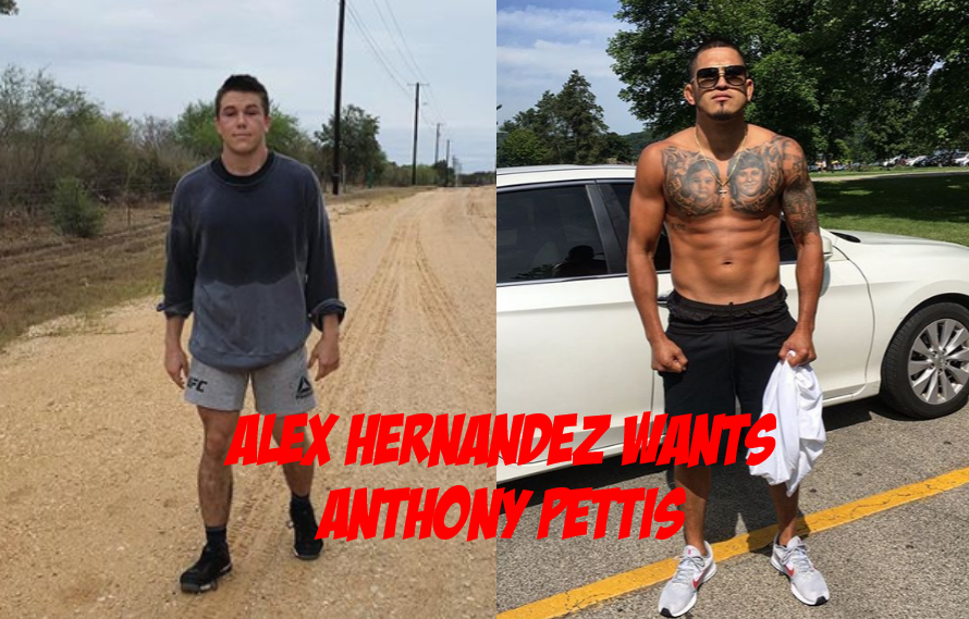 Alex Hernandez Tells Anthony Pettis to 'Eat His Wheaties' And Prepare To Fight Him