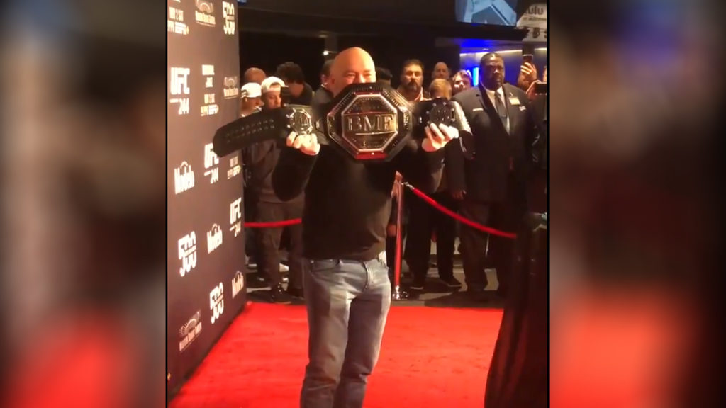 Pic: UFC Unveils The 'BMF Title' Ahead Of UFC 244 Main Headliner Bout, Conor Mcgregor Takes Aim