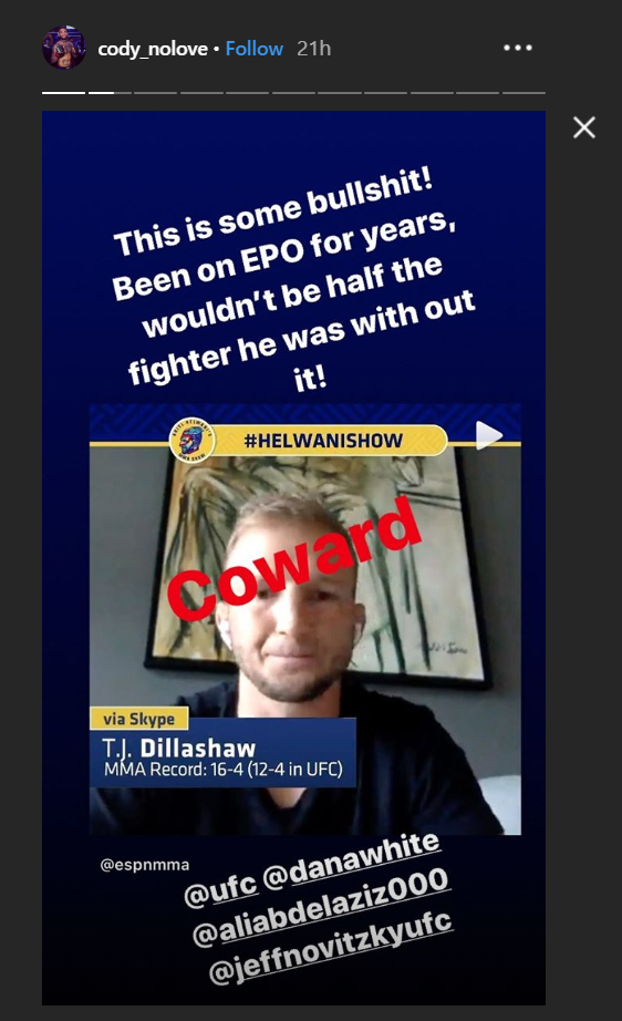 Cody Garbrandt Calls Out Tj Dillashaw