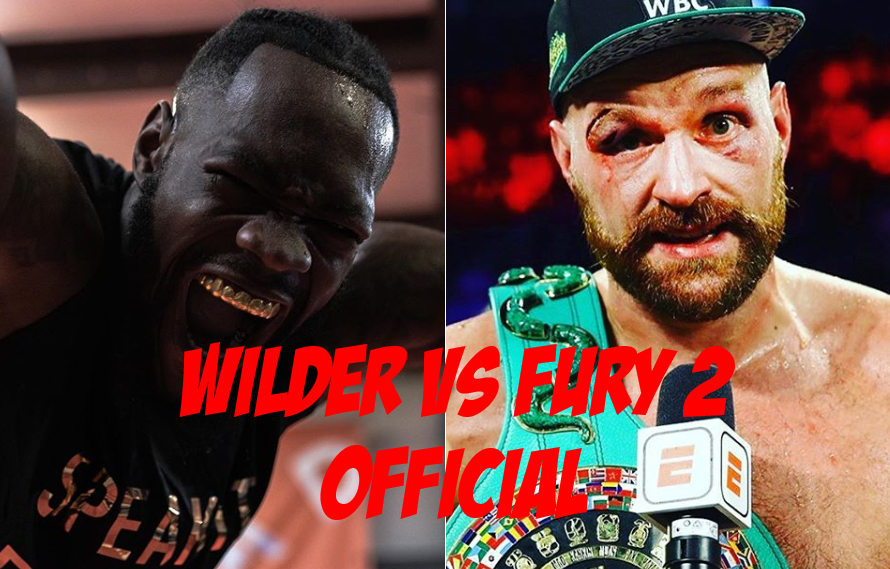 Deontay Wilder vs Tyson Fury 2 Official For February 22nd!
