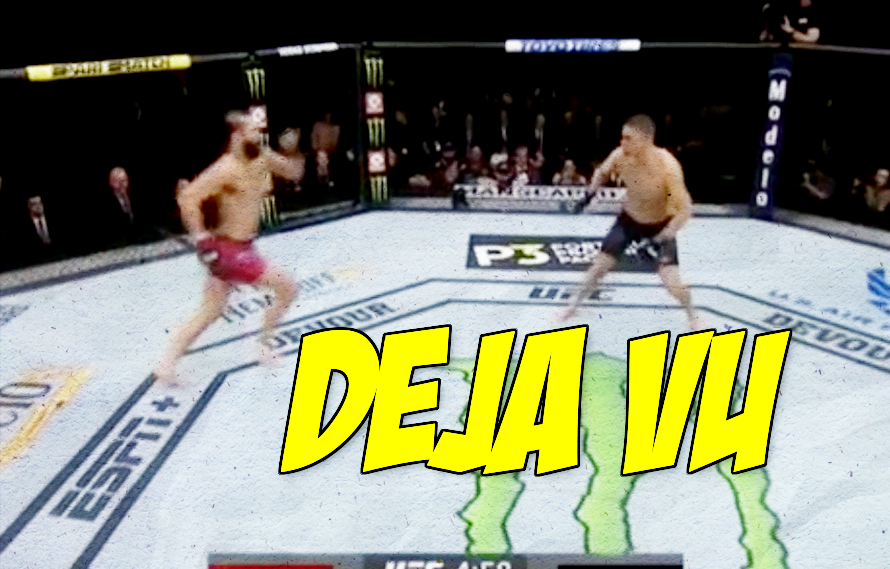 Video: Jon Anik silently freaked out when Jorge Masvidal tried to start UFC 244 with a flying knee