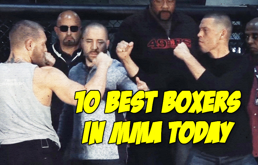 The 10 Best Boxers in MMA Today
