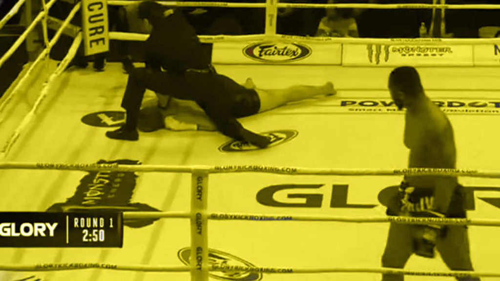 Video: Jon King Knocked Out Tom Matlon In 10 Seconds At Glory 72